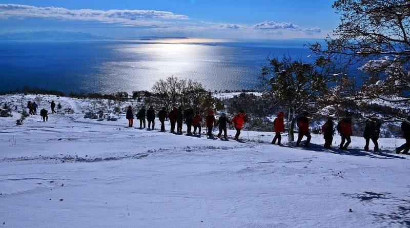 Ganoslar'da Kış Güzellemesi